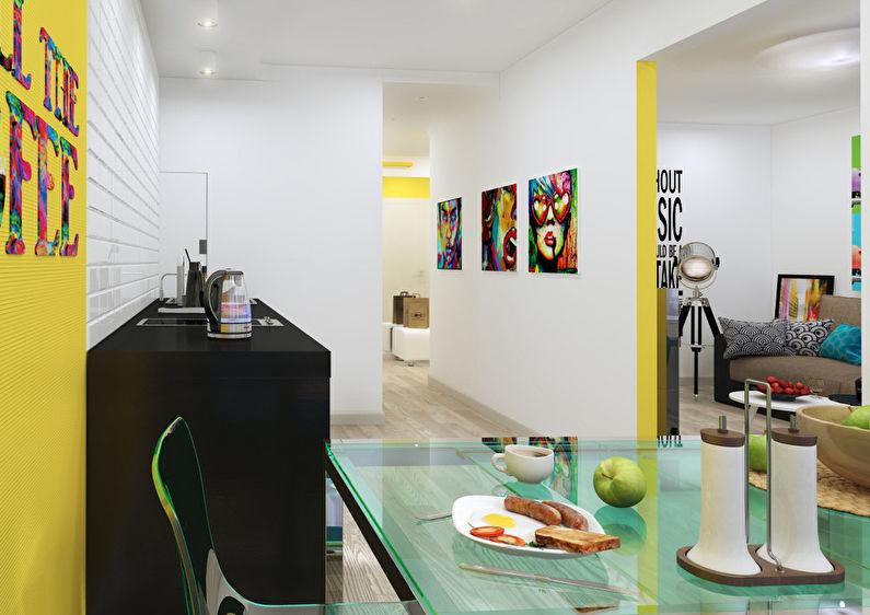 Pop Art Invasion: Appartement 46 m2 - photo 8