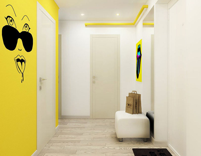 Pop Art Invasion: Appartement 46 m2 - photo 11