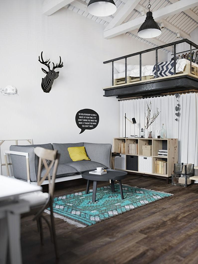 Appartement style loft scandinave - photo 1