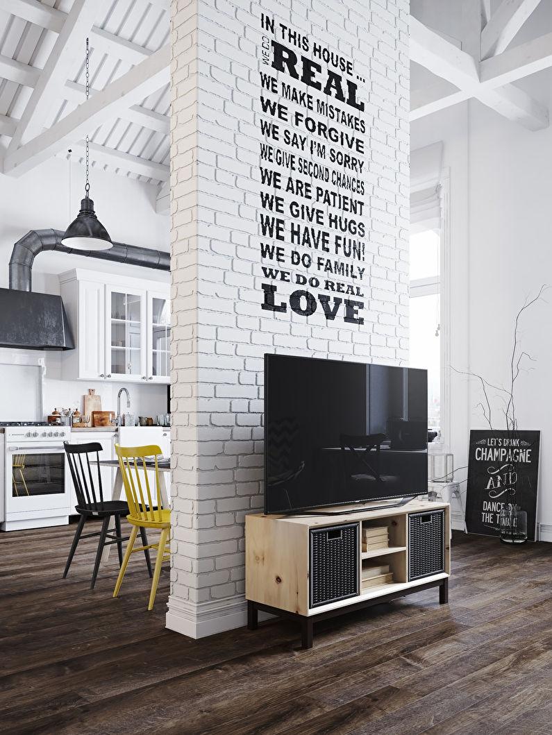 Appartement style loft scandinave - photo 2
