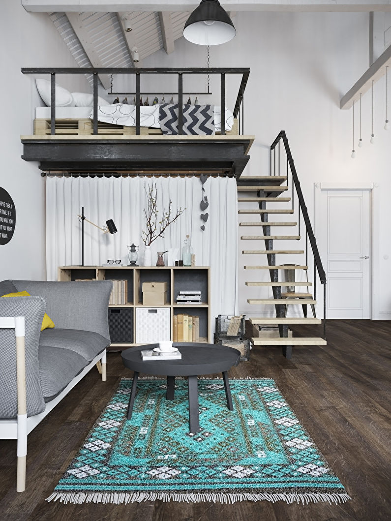 Appartement style loft scandinave - photo 3