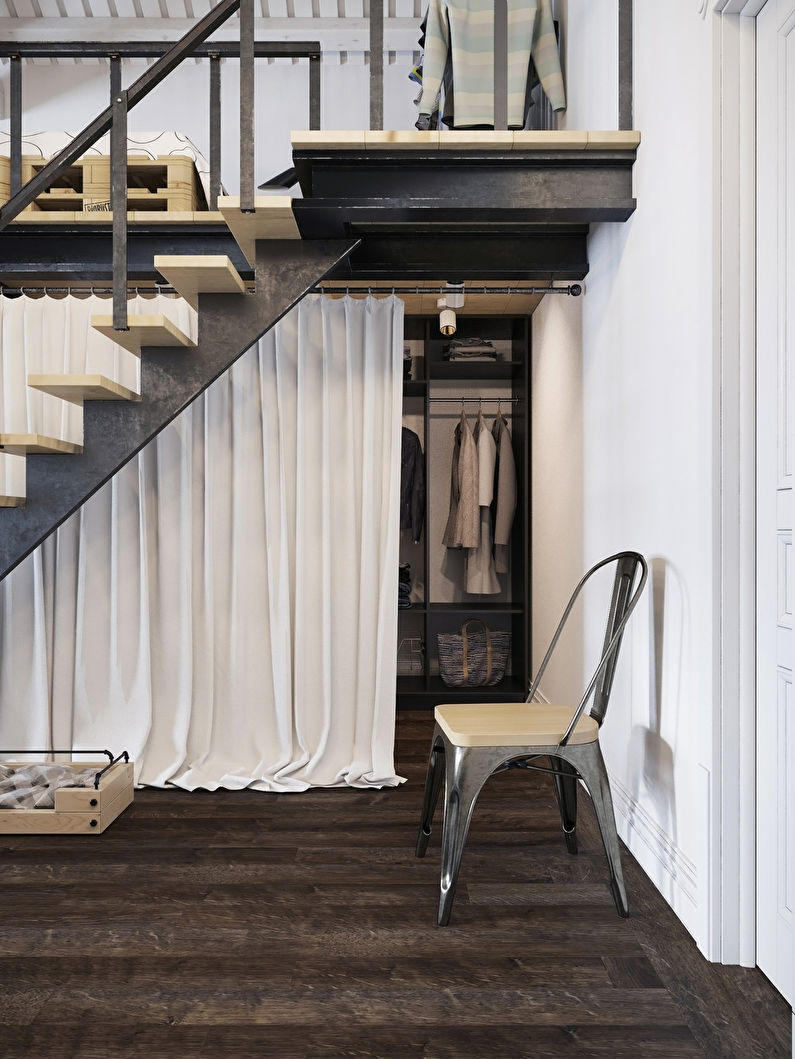 Appartement style loft scandinave - photo 6