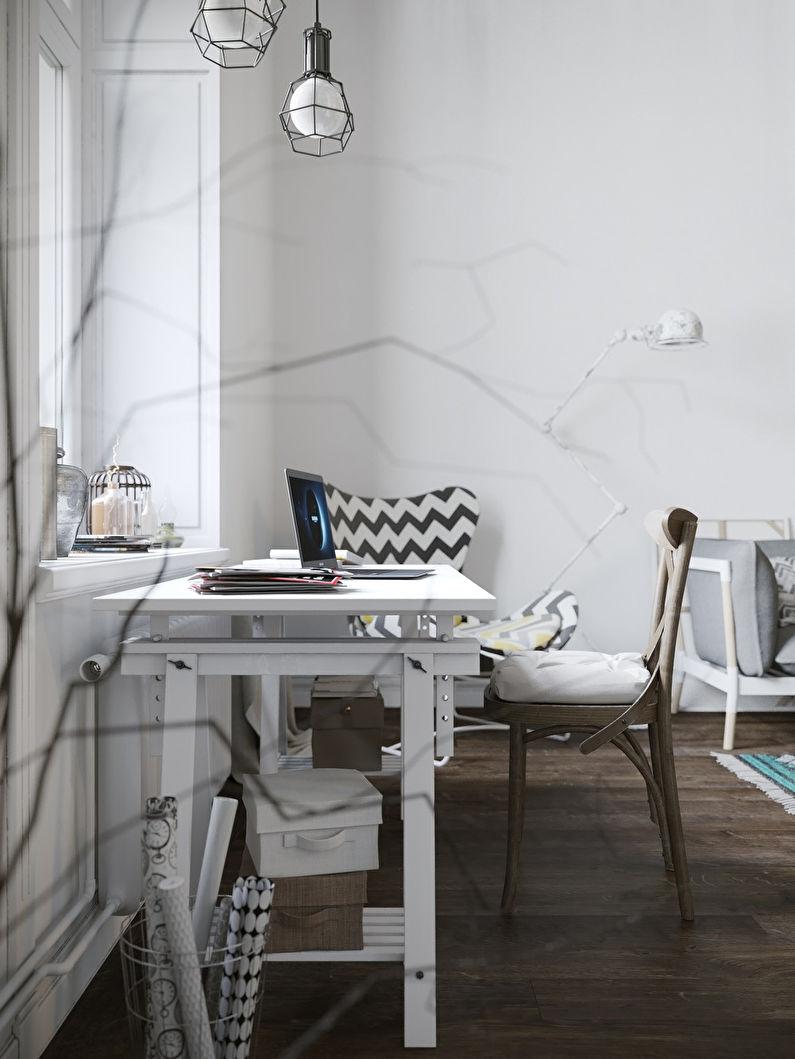 Appartement style loft scandinave - photo 9
