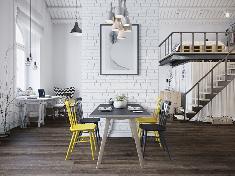 Appartement style loft scandinave - photo 10