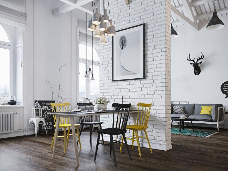 Appartement style loft scandinave - photo 11