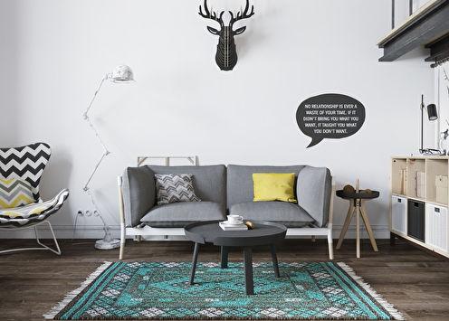 Appartement de style loft scandinave