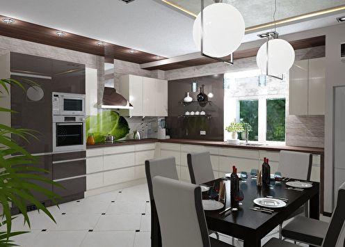 Projet de conception d'une cuisine dans une maison de campagne