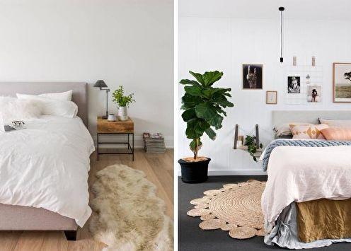 Plus de 70 idées de conception de chambres blanches (photos)