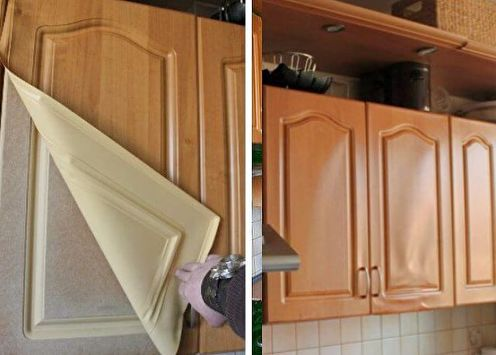 Restauration de meubles de cuisine à faire soi-même