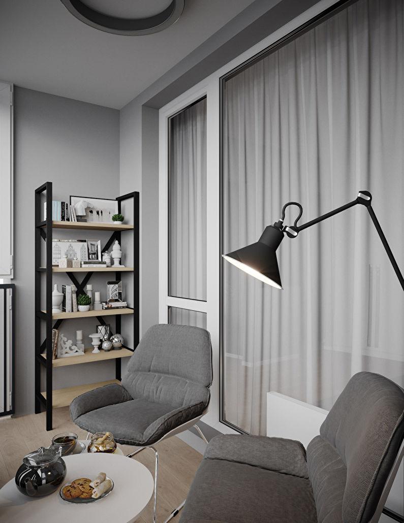 Studio pour jeune homme, 38 m2 - photo 7