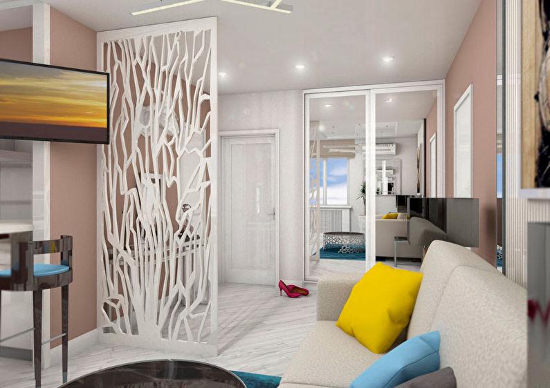 Le projet de l'appartement est de 38 m². - photo 1
