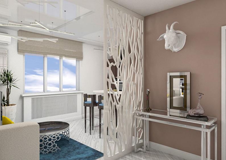 Le projet de l'appartement est de 38 m². - photo 2