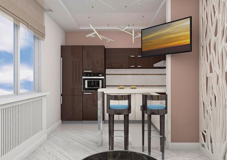 Le projet de l'appartement est de 38 m². - photo 3