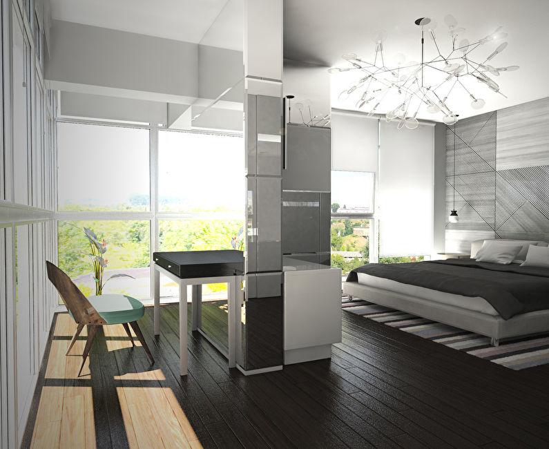 Le projet de l'appartement est de 38 m². - photo 5