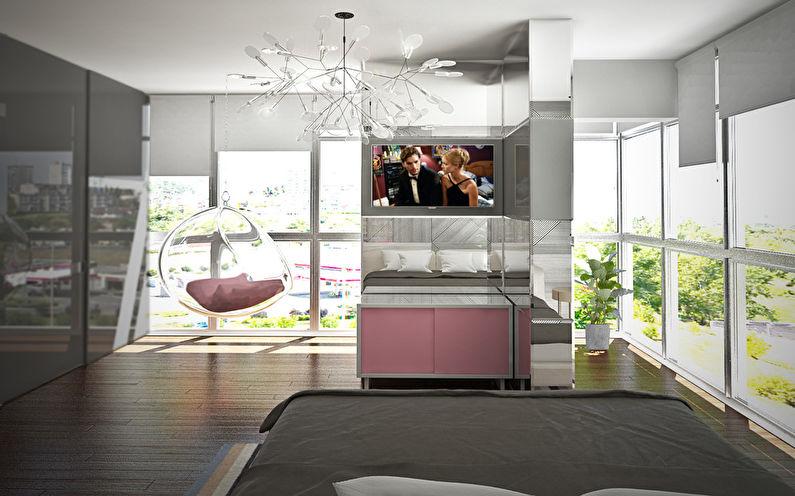 Le projet de l'appartement est de 38 m². - photo 6