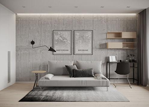 Studio apartman za mladića, 38 m2