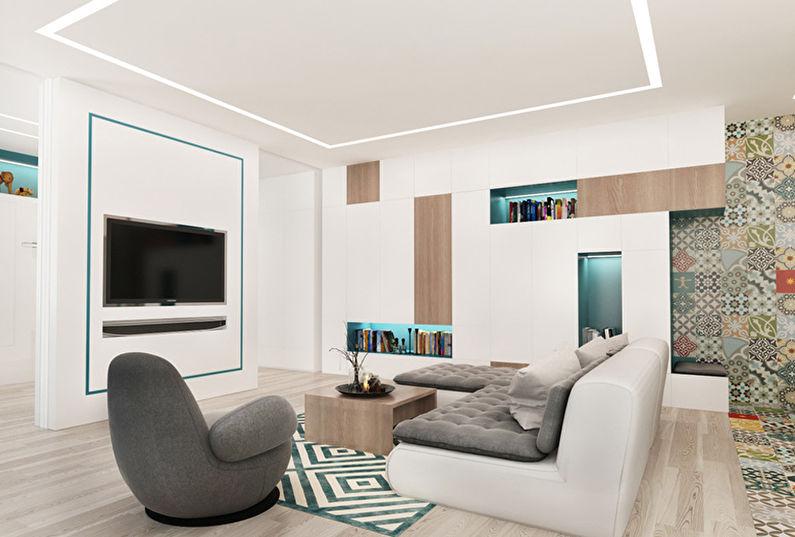 Chambre Patchwork: Appartement pour une jeune famille - photo 1