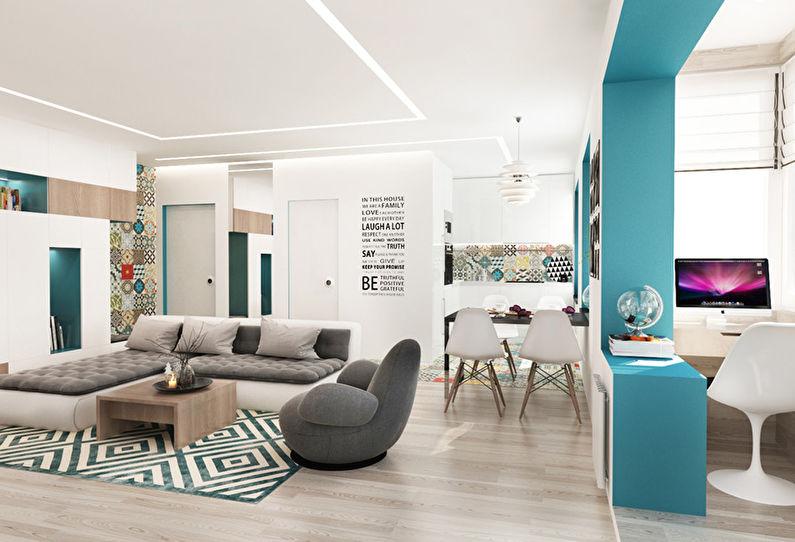 Chambre Patchwork: Appartement pour une jeune famille - photo 2