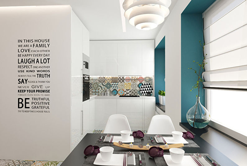 Chambre Patchwork: Appartement pour une jeune famille - photo 3