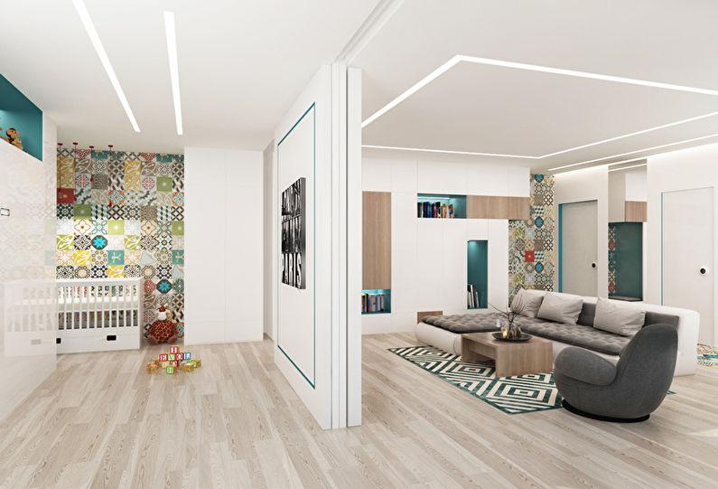 Patchwork Room: Appartement pour une jeune famille - photo 4
