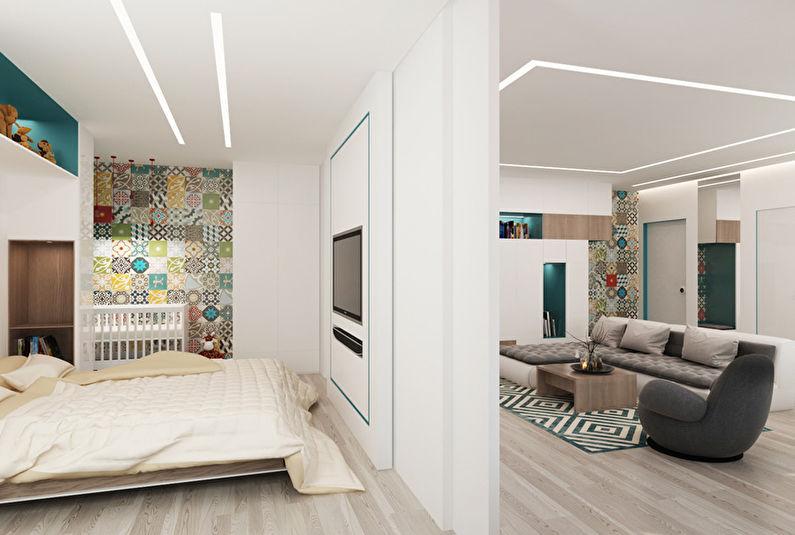 Patchwork Room: Appartement pour une jeune famille - photo 5