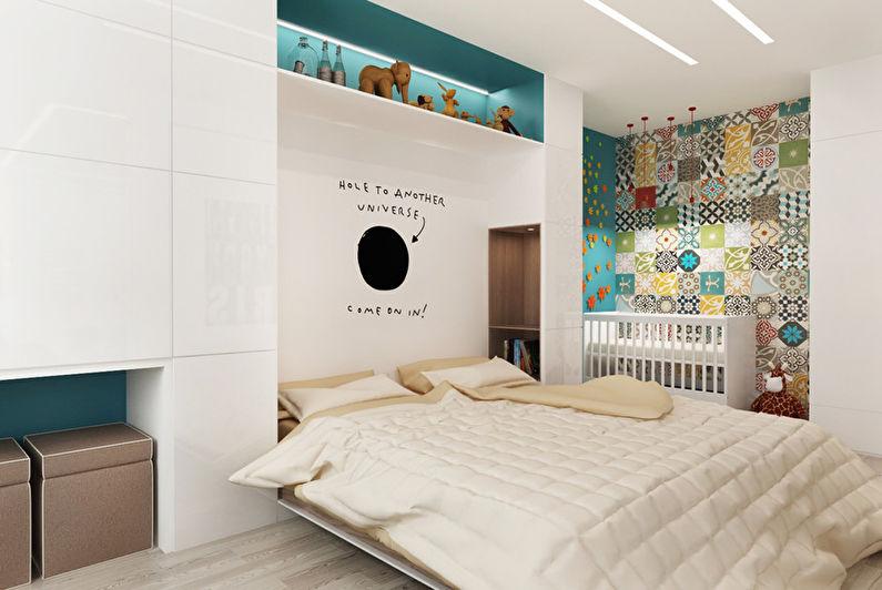 Patchwork Room: Appartement pour une jeune famille - photo 6
