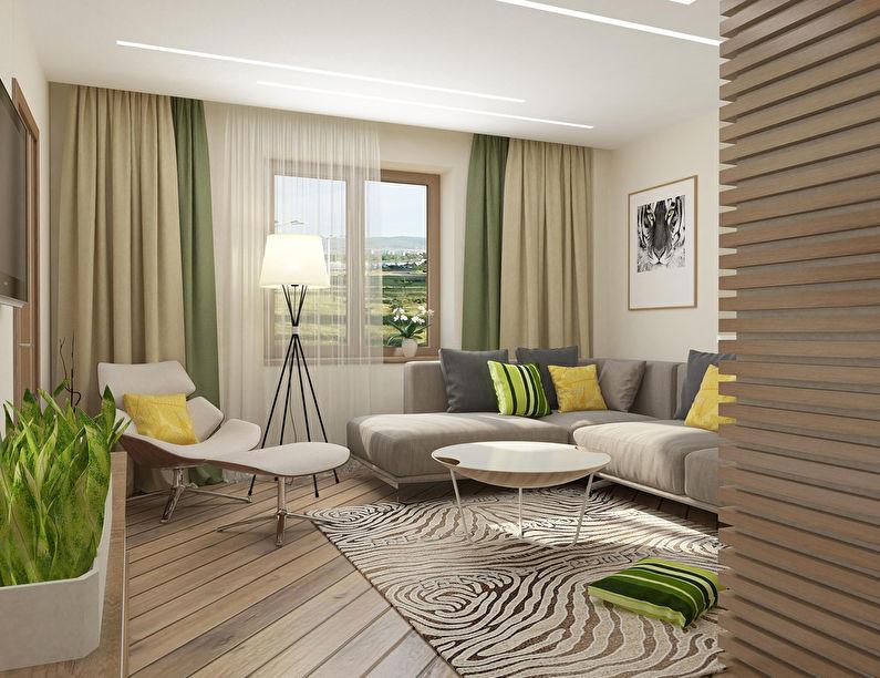 Appartement à Krasnoyarsk, 51 m2 - photo 1