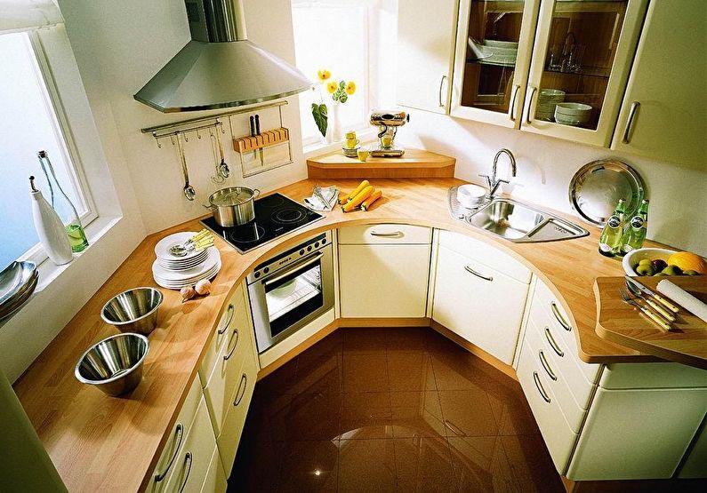 Ontwerp Van Een Kleine Keuken 75 Foto S Van Interieurs Ideeen Voor Reparaties