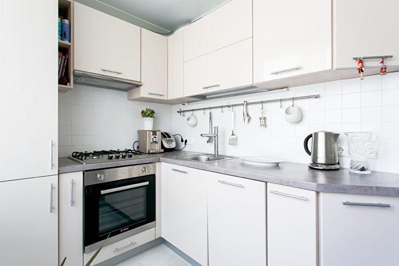 Conception de cuisine 6 m² dans un style moderne