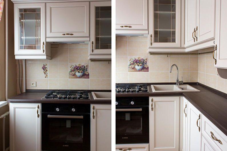 Conception de cuisine 6 m² dans un style classique