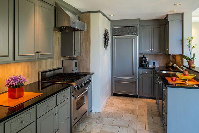 Conception de cuisine 6 m² - le genre