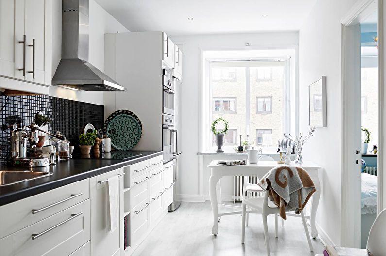 Conception de cuisine 6 m² - décoration de plafond