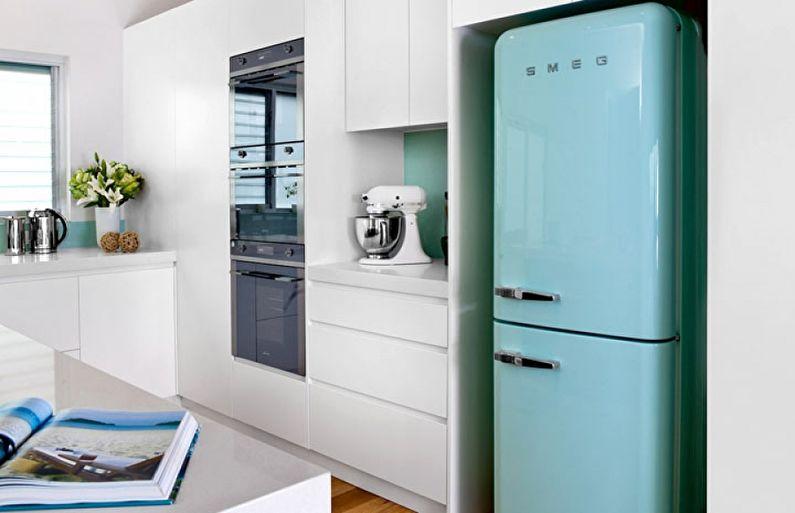 Conception de cuisine 6 m² avec frigo