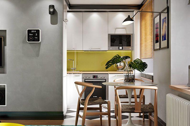 Conception de cuisine 6 m² à Khrouchtchev