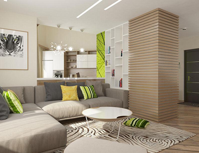Appartement à Krasnoyarsk, 51 m2