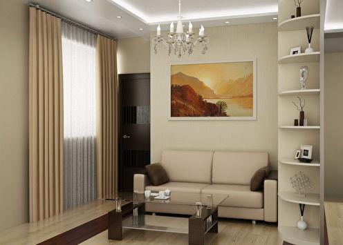 Appartement de style moderne, 41 m2
