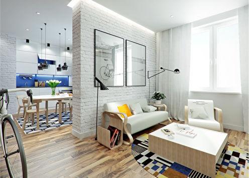 Le projet de l'appartement