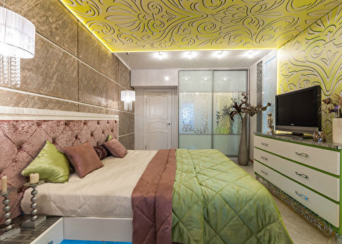 L'intérieur de la chambre est de 19 m².