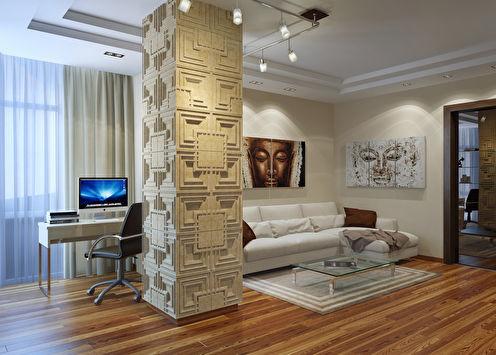 Projet d'appartement d'une chambre, Batumi