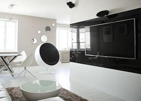 Appartement Hi-Tech: 85 idées de design