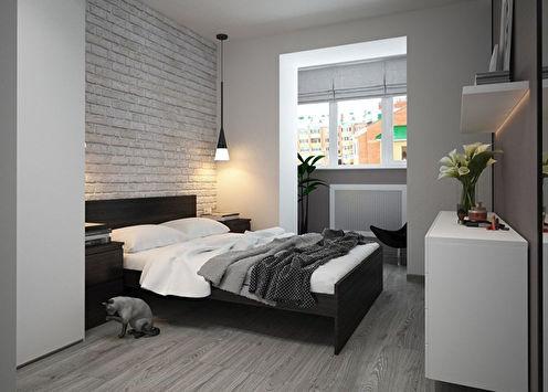 Conception de chambre minimaliste