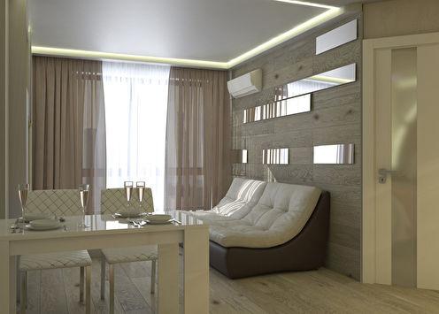 Intérieur d'un appartement pour une jeune famille