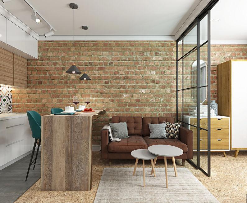 Projet de conception d'un appartement 34 m2 - photo 1