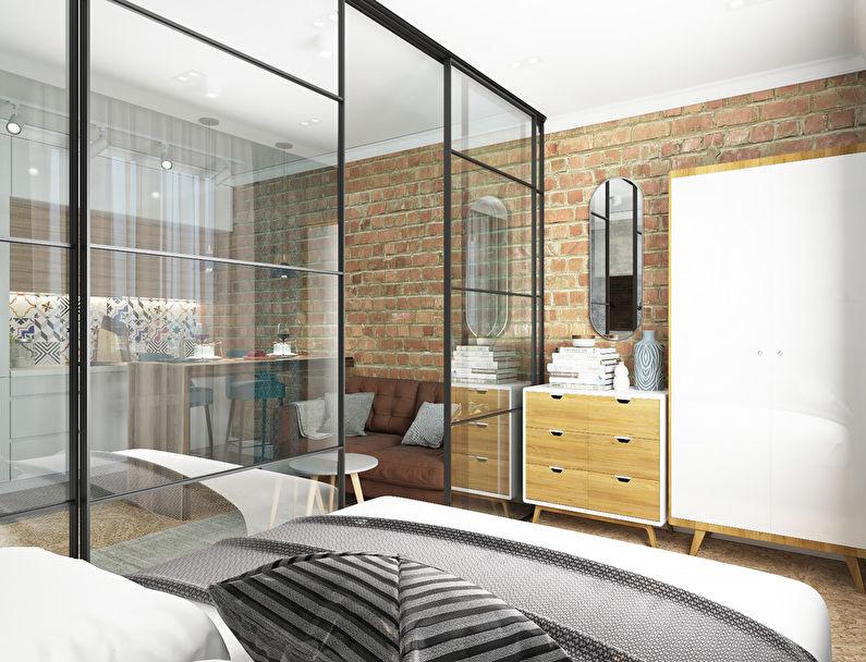 Projet de conception de l'appartement 34 m2 - photo 3