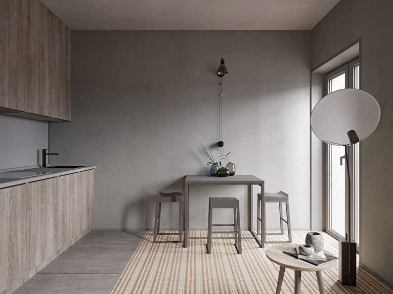 Studio dans le style du minimalisme - photo 2