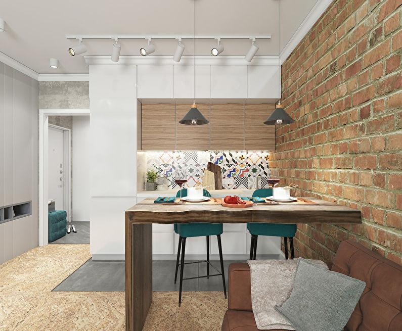 Projet de conception d'un appartement 34 m2