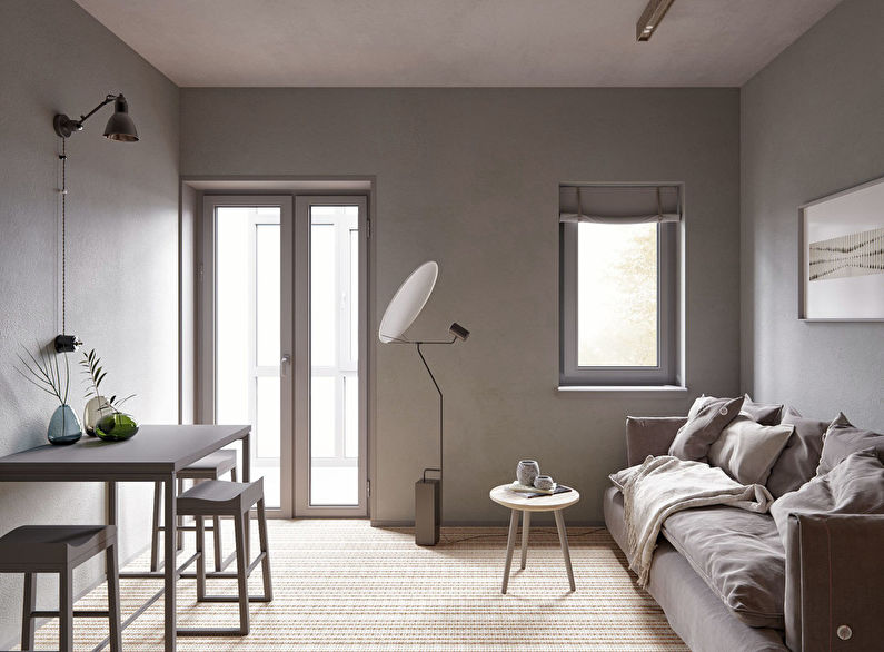 Studio minimaliste