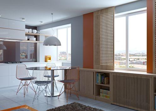 Mali studio apartman 38 m²