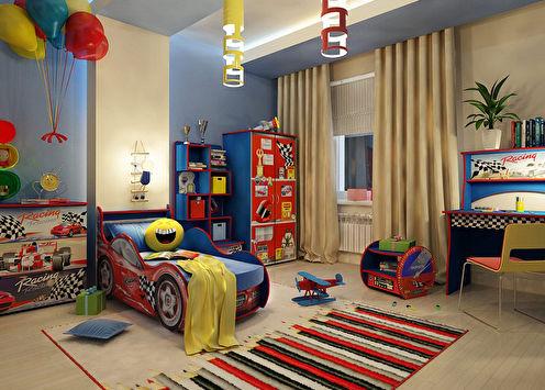Conception d'une chambre d'enfant pour un garçon (75+ photos)