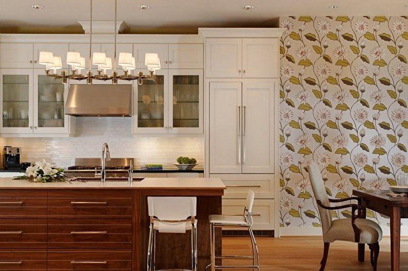 Brown Kitchen Design - Décoration murale